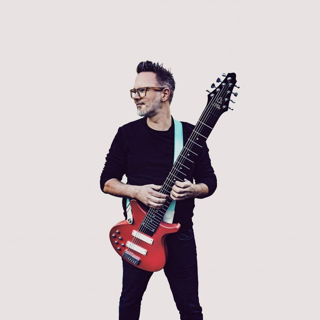 Markus Reuter in 2019 with Touch Guitars® U8 Deluxe